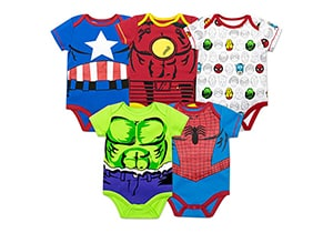 Marvel Baby Boy 5 Pack