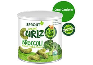 Sprout Organic Curlz Toddler Snacks