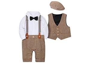 Wesidom Baby Boy Suit