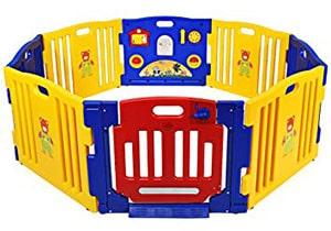 Costzon Baby Playpen Kid's Safety Activity Center