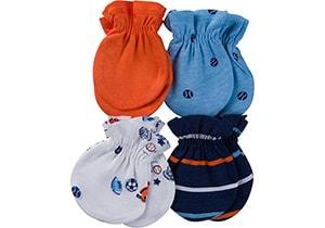 Gerber Baby Boys' Mittens Valuepack