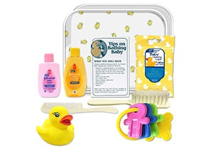 Johnson & Johnson Bath Set