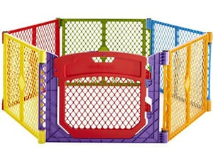 North States Colorful Play Yard