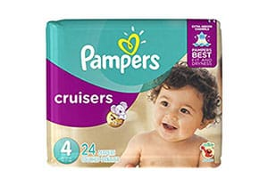 Pampers Cruisers Disposable Diapers