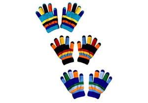 Peach CoToddler Winter Mittens Snowflake Designuture Toddler Winter Gloves