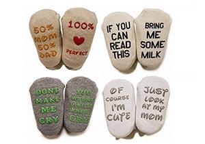 TwinkleToes Quote Socks