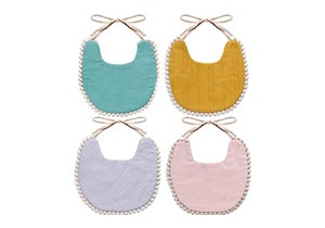 Wipalo Cotton Bibs