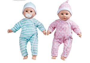 Mellisa And Doug Mine to love Twins Baby dolls