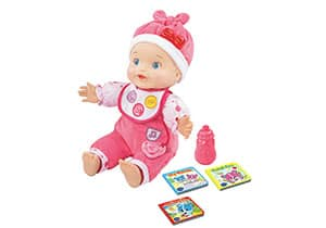 VTech Amaze Learn To Talk and Read Baby Doll