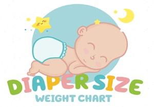 Diaper Size - Weight Chart